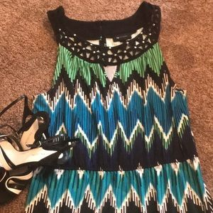Gorgeous Aztec Maxi Dress